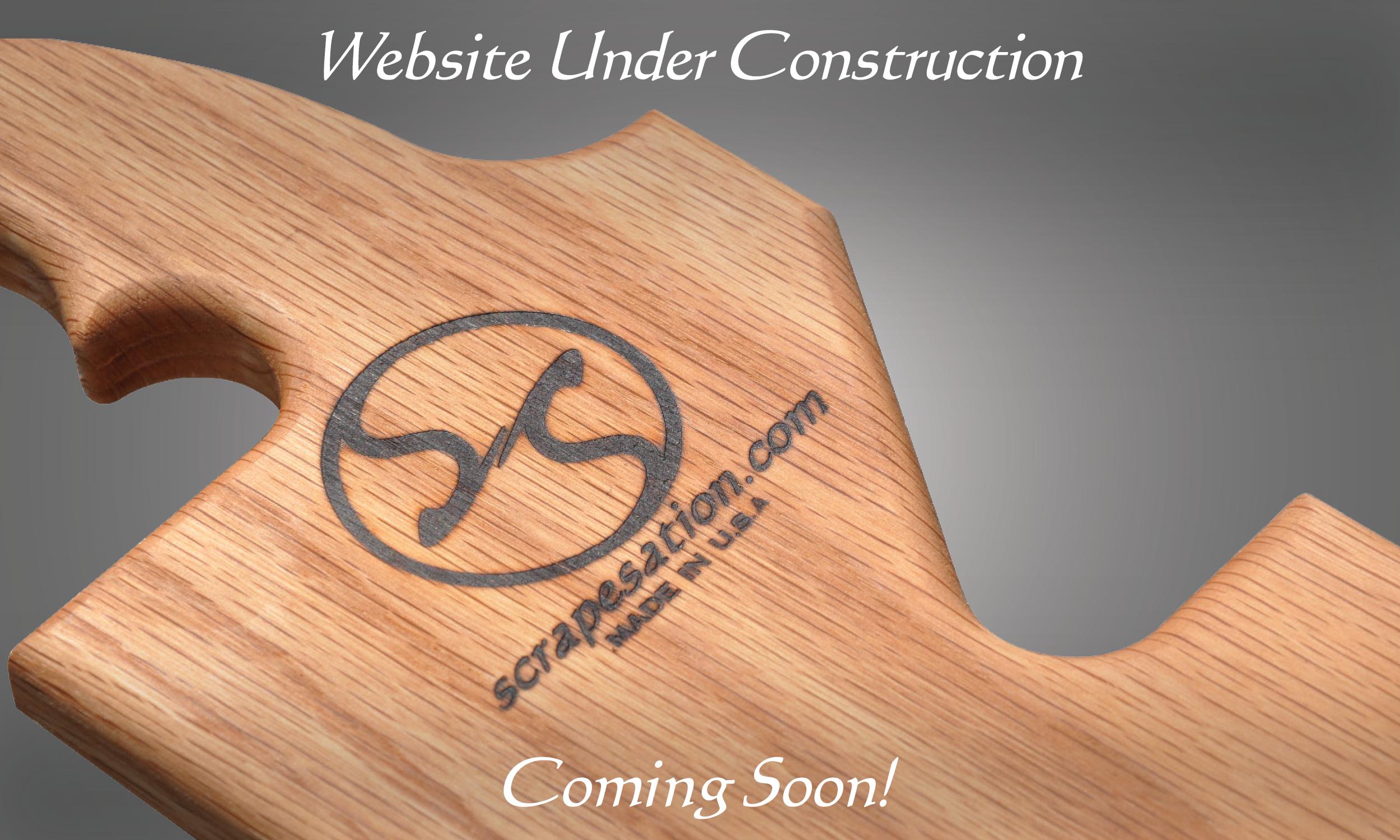 Scrapesation Website Under Construction. Coming Soon!